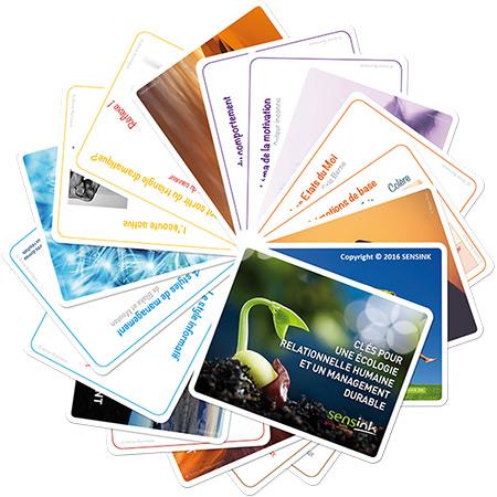 Jeux de cartes SENSINK - Mentoring et développement de compétences