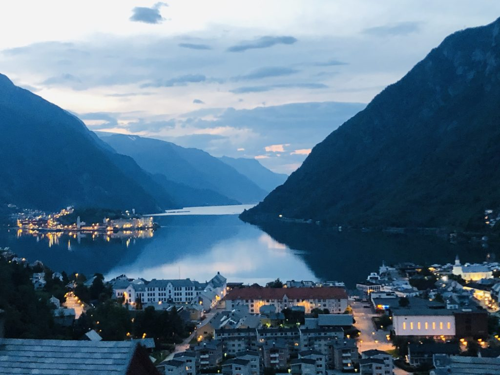 bergen norvège fjord